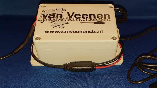Kabelbox voor cameraset in paardentrailer