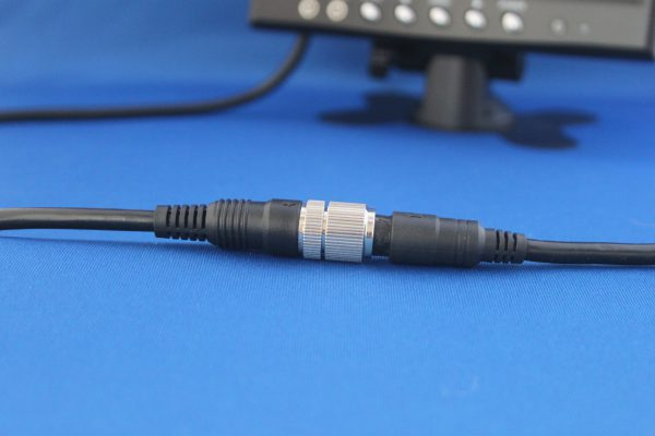 stekkerverbinding 7 inch monitor